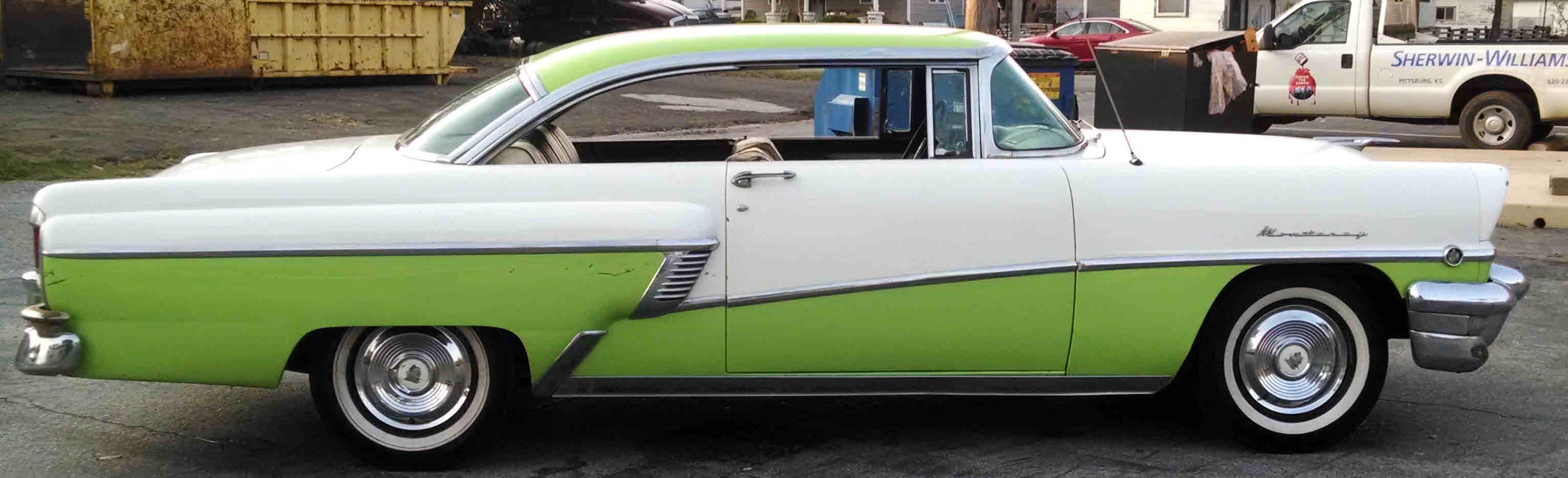 Loughmiller motors for 1955 mercury monterey 2 door hardtop