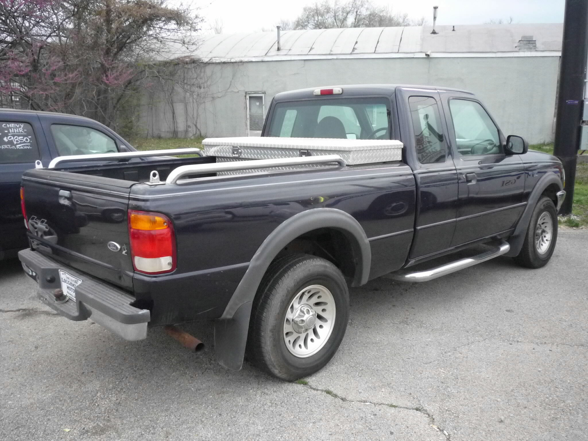 Ford Ranger 1999 >> Dark blue, grey cloth interior, 3.0 liter V06, auto, 4x4, extra-cab quad-cab, a/c, cruise, tilt ...